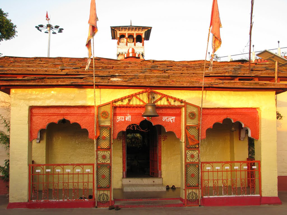 Nanda Devi Temple in Almora