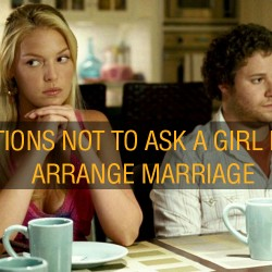 questions to ask a boy before arranged marriage