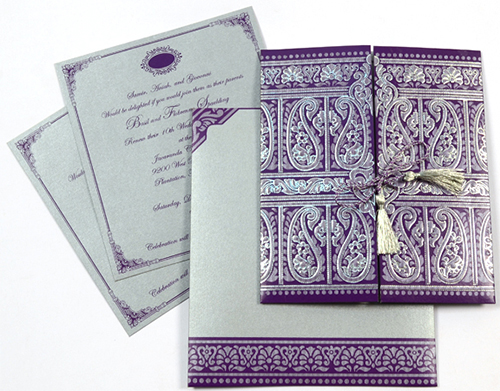 Elegant Invitation Card Designs For Your Wedding