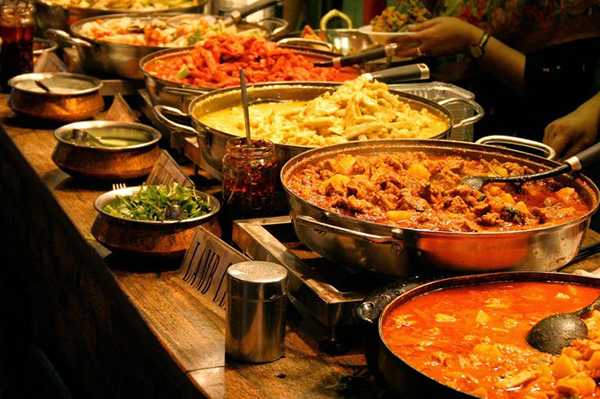 Menu of Finger Licking Food for Big Fat Indian Weddings