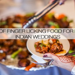 Food in Indian Weddings