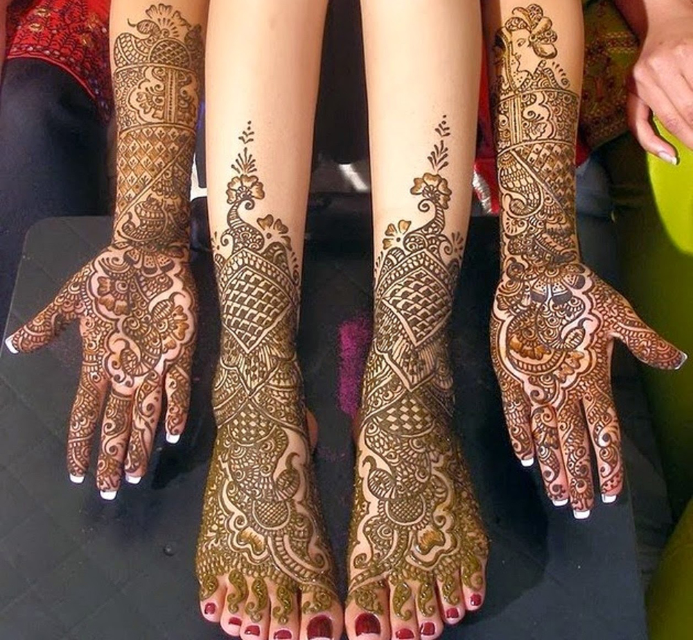 Bridal Mehndi Feet Wallpapers : Mehndi design eye catching bridal mehendi designs