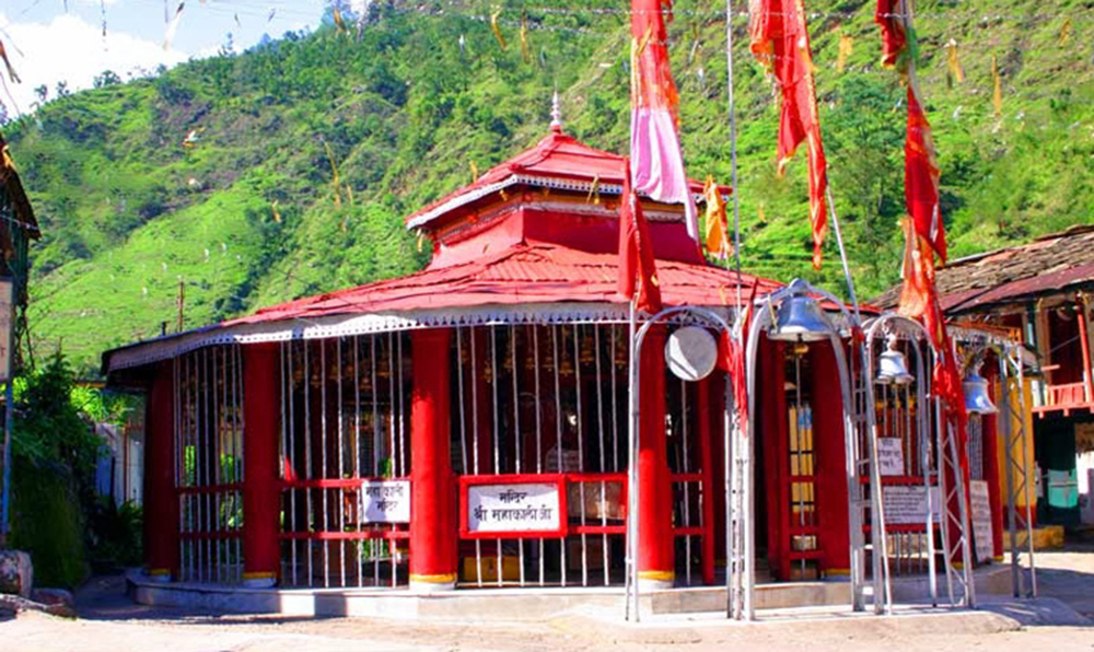 Kalimath Temple in Rudraprayag district