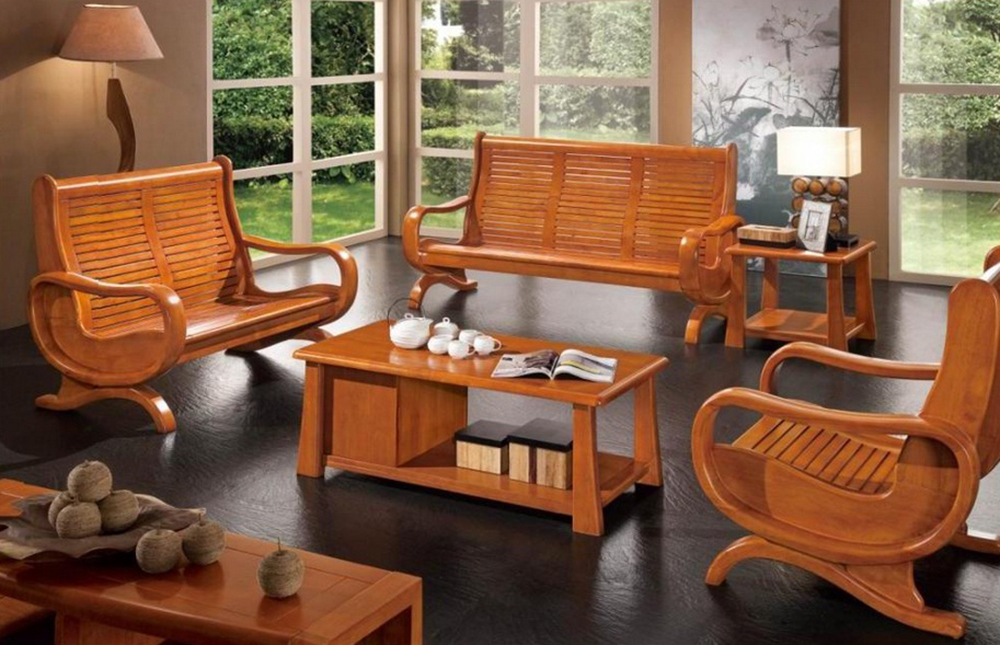 Interior design indian elegant interior designs for for Wooden living room furniture