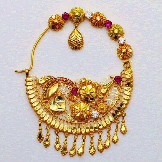 Best Nathuli Designs For Uttarakhandi Brides Pahadi Nath