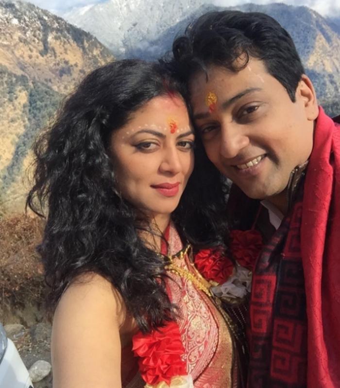 kavita kaushik u2019s wedding at triyuginarayan temple in